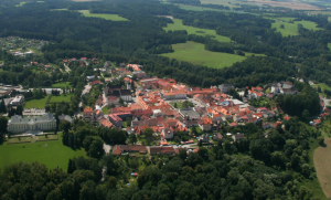 The town of Nove Hrady